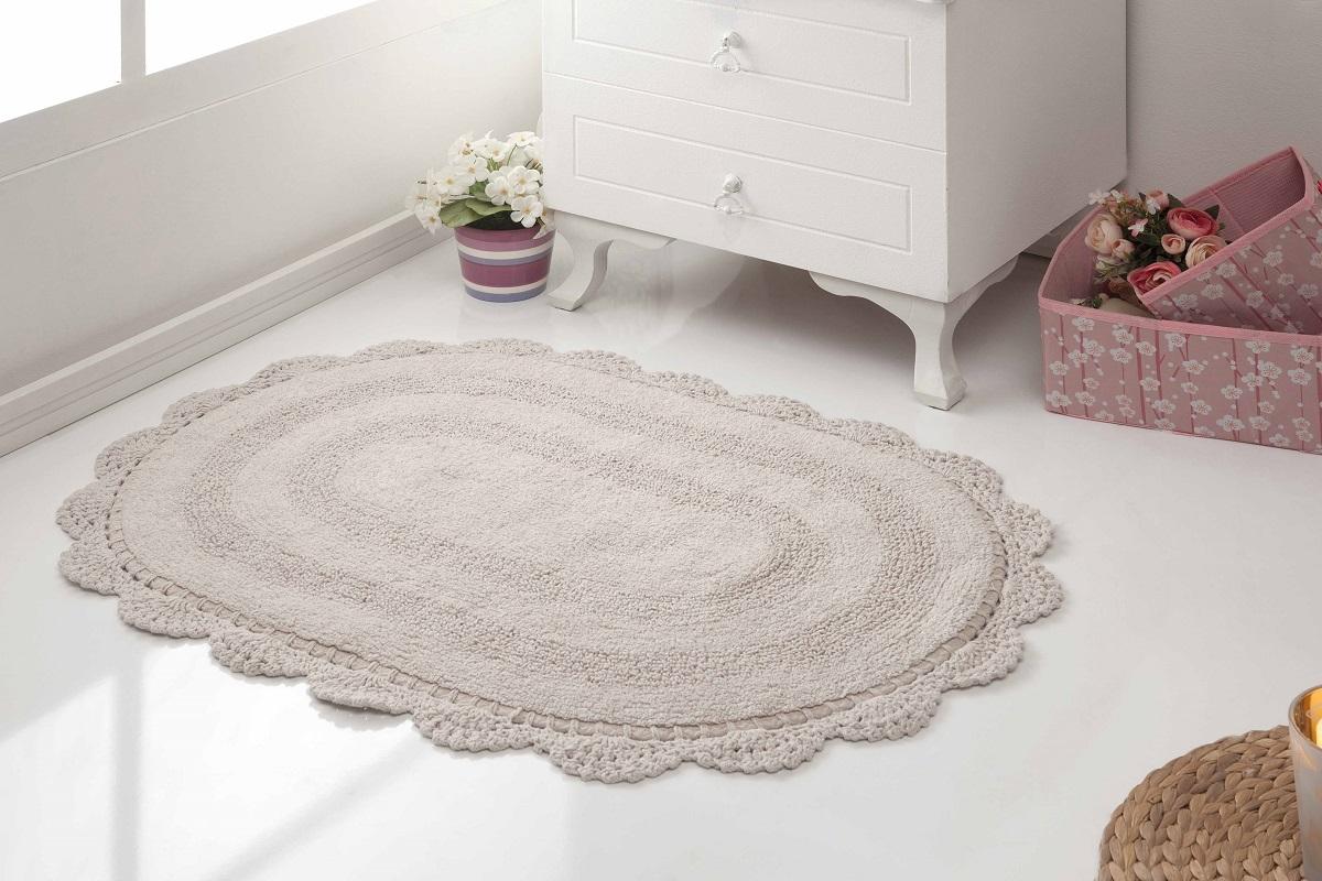 Аксессуары для ванной и туалета Modalin Коврик для ванной Diana Цвет: Кофейный (50х80 см) modalin modalin полотенце petek цвет розовый 70х140 см