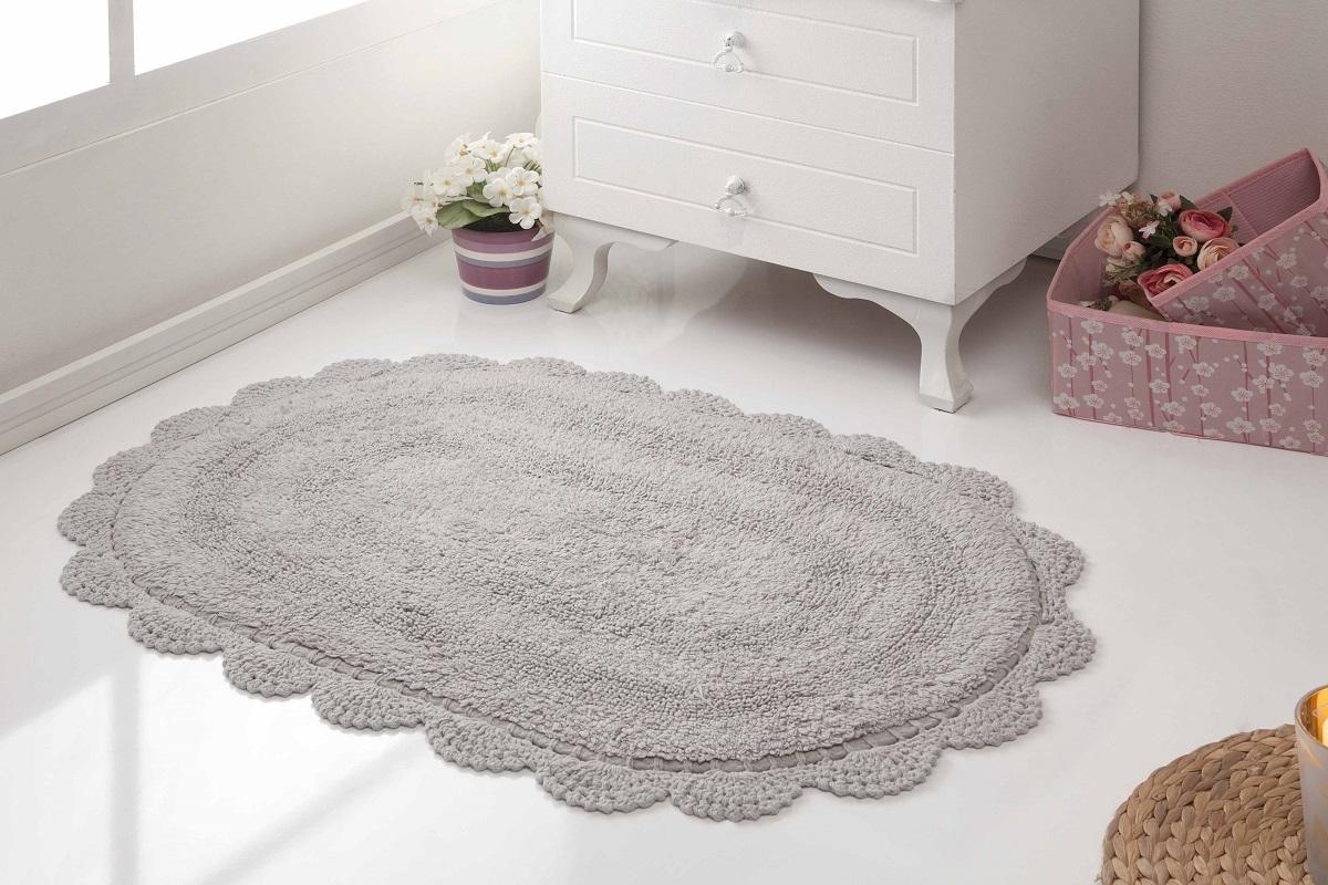 Аксессуары для ванной и туалета Modalin Коврик для ванной Diana Цвет: Стоне (50х80 см) коврик для ванной арти м 50х80 см розанна