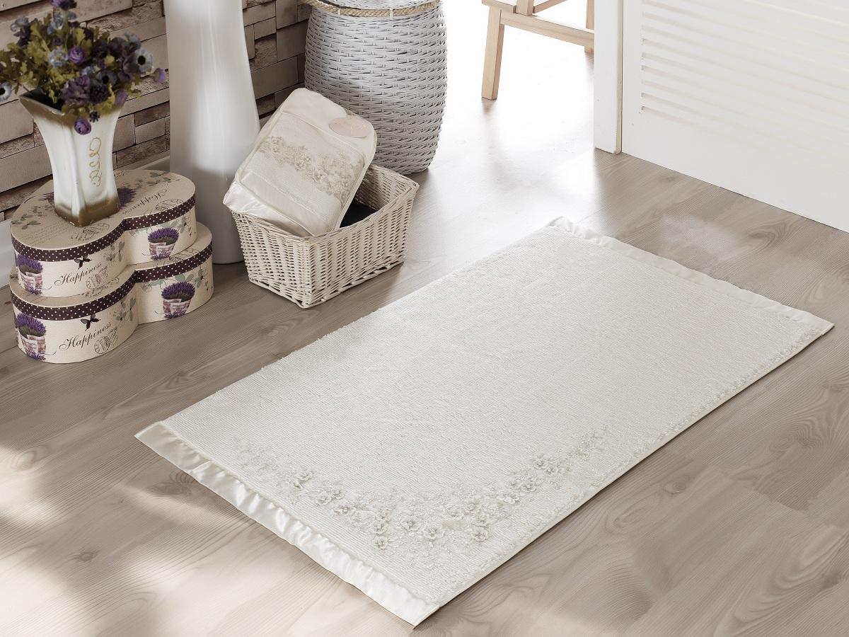 Аксессуары для ванной и туалета IRYA Коврик для ванной Bride Цвет: Молочный (60х90 см) to be bride аксессуары