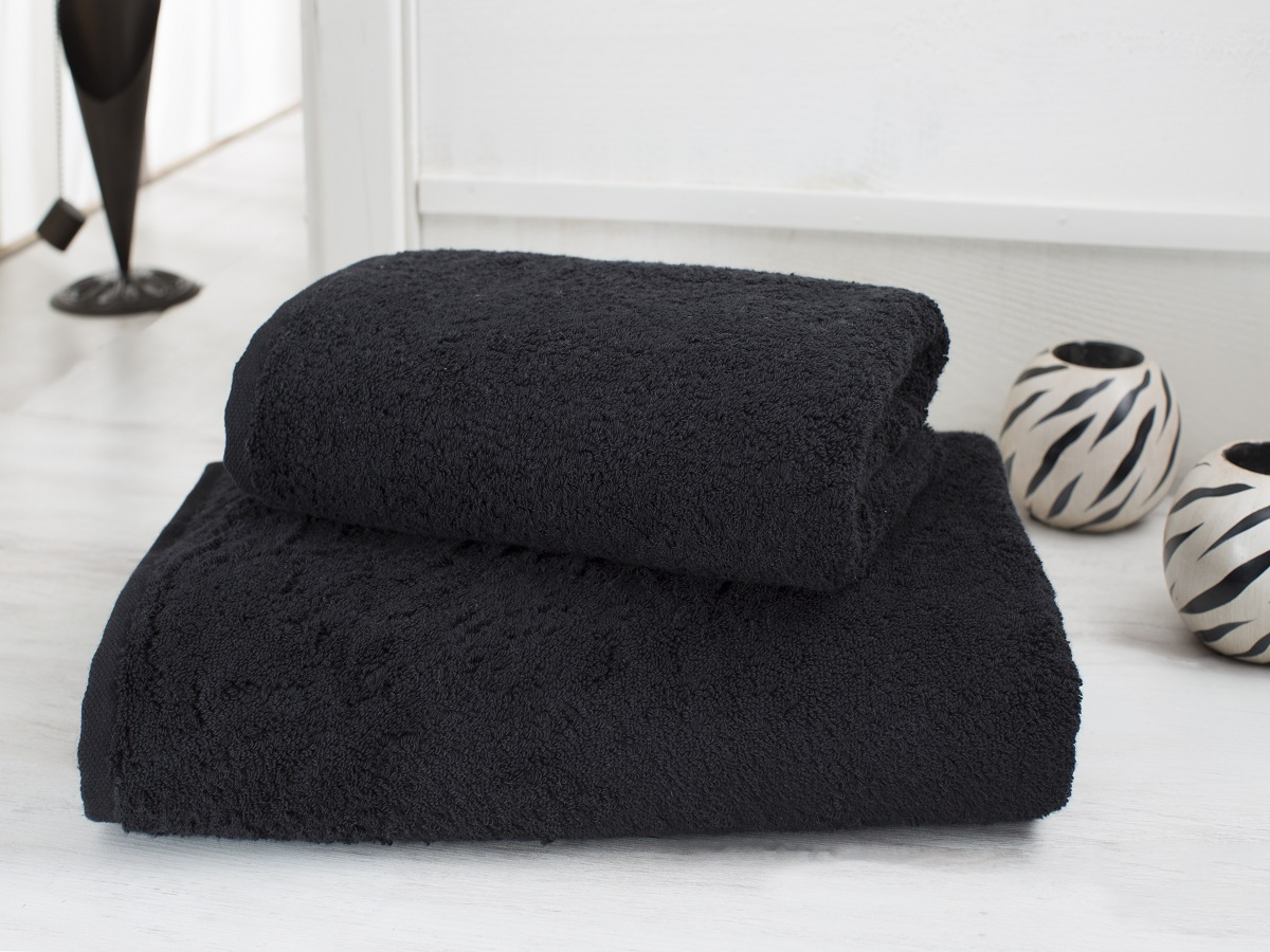 Полотенца Karna Полотенце Efes Цвет: Черный (50х100 см) наматрасник karna с пропиткой 120x200 см