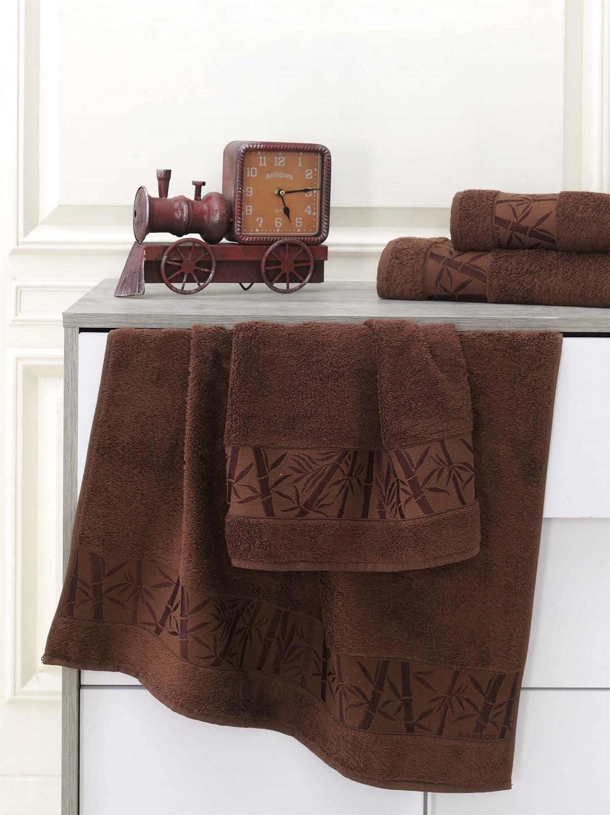 Полотенца Karna Полотенце Pamira Цвет: Коричневый (70х140 см) полотенца karna полотенце iteka цвет коричневый 70х140 см