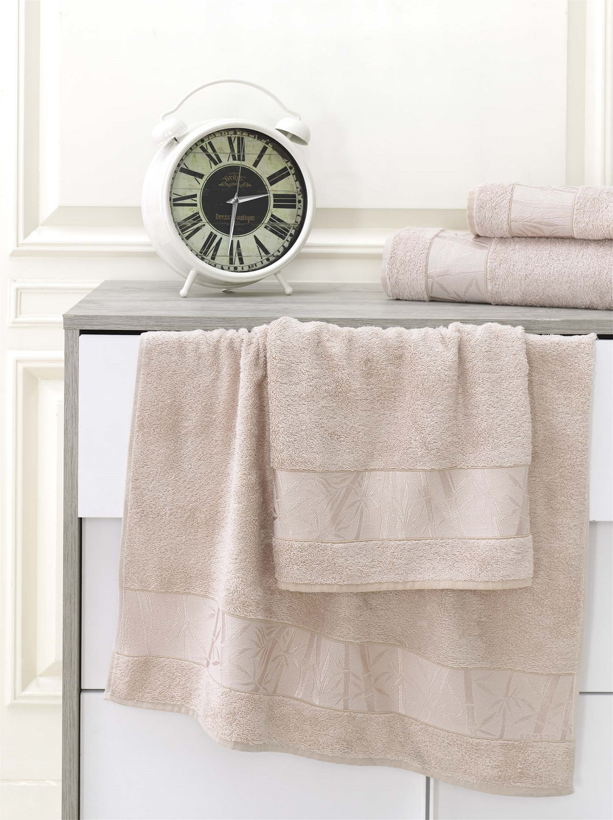 Полотенца Karna Полотенце Pamira Цвет: Бежевый (70х140 см) полотенца karna полотенце iteka цвет коричневый 70х140 см