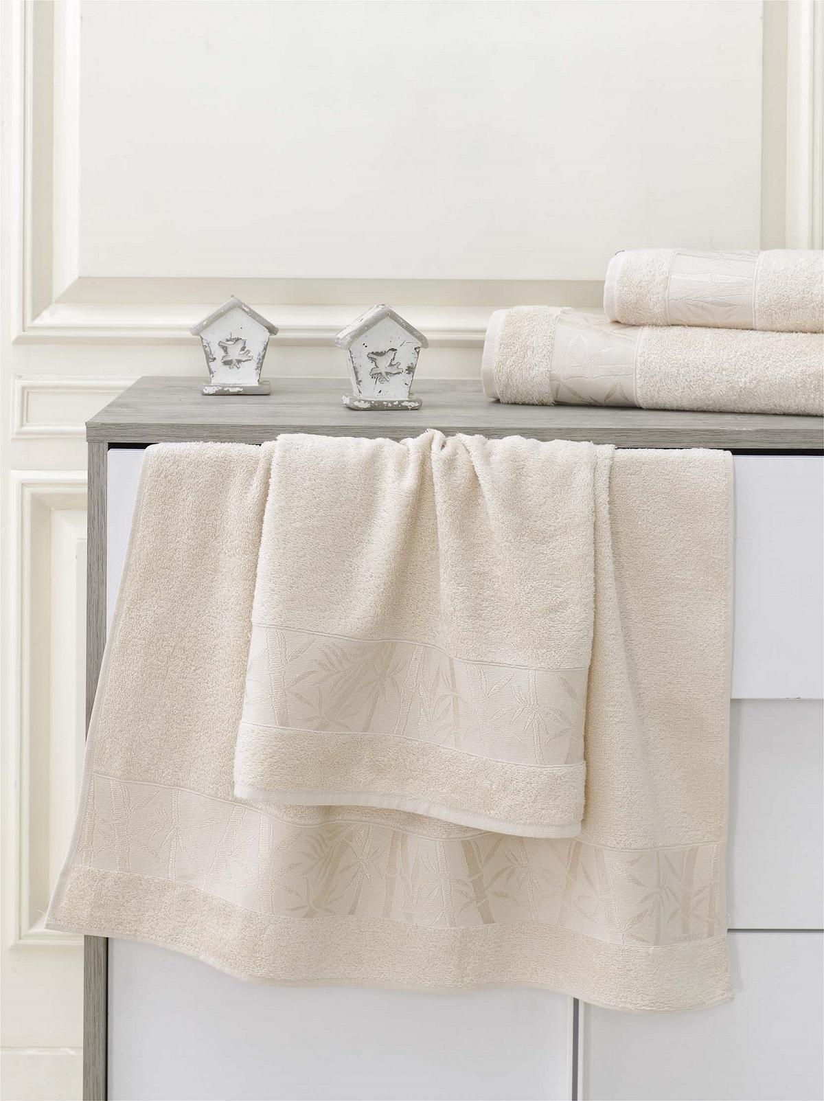 Полотенца Karna Полотенце Pamira Цвет: Капучино (70х140 см) karna karna полотенце innes цвет красный 70х140 см