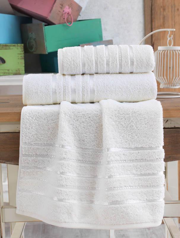Полотенца Karna Полотенце Jasmin Цвет: Кремовый (50х100 см) полотенце 100 100 см авангард