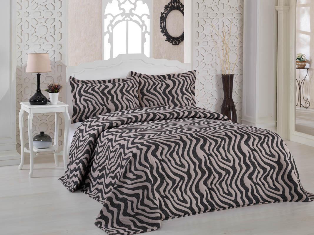 Покрывало Karna Покрывало Zebra Цвет: Капучино (240х260 см) покрывало karna покрывало vartien цвет пудра 240х260 см