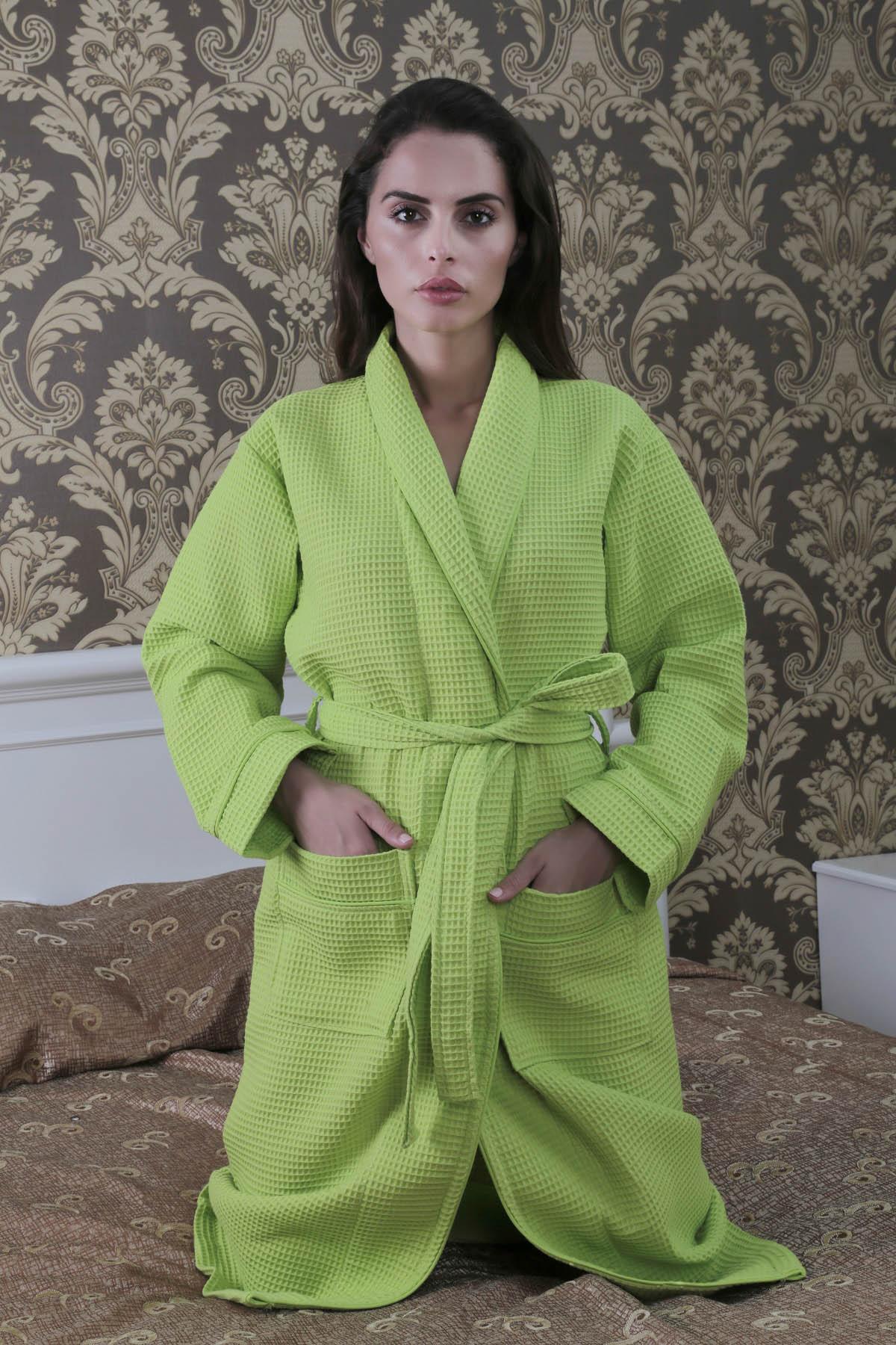 Сауны, бани и оборудование Salyaka Халат Dismas Цвет: Фисташковый (M) халат детский crockid crockid халат фисташковый