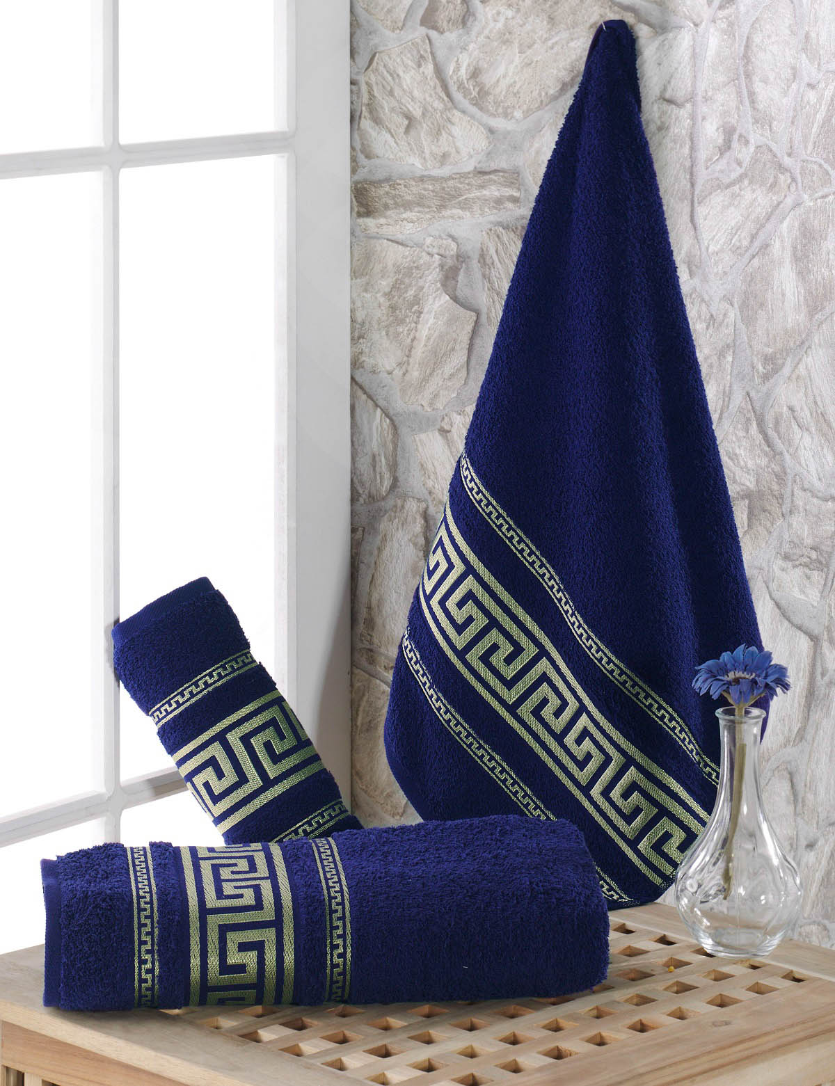 Полотенца Karna Полотенце Iteka Цвет: Синий (70х140 см) karna karna полотенце innes цвет красный 70х140 см