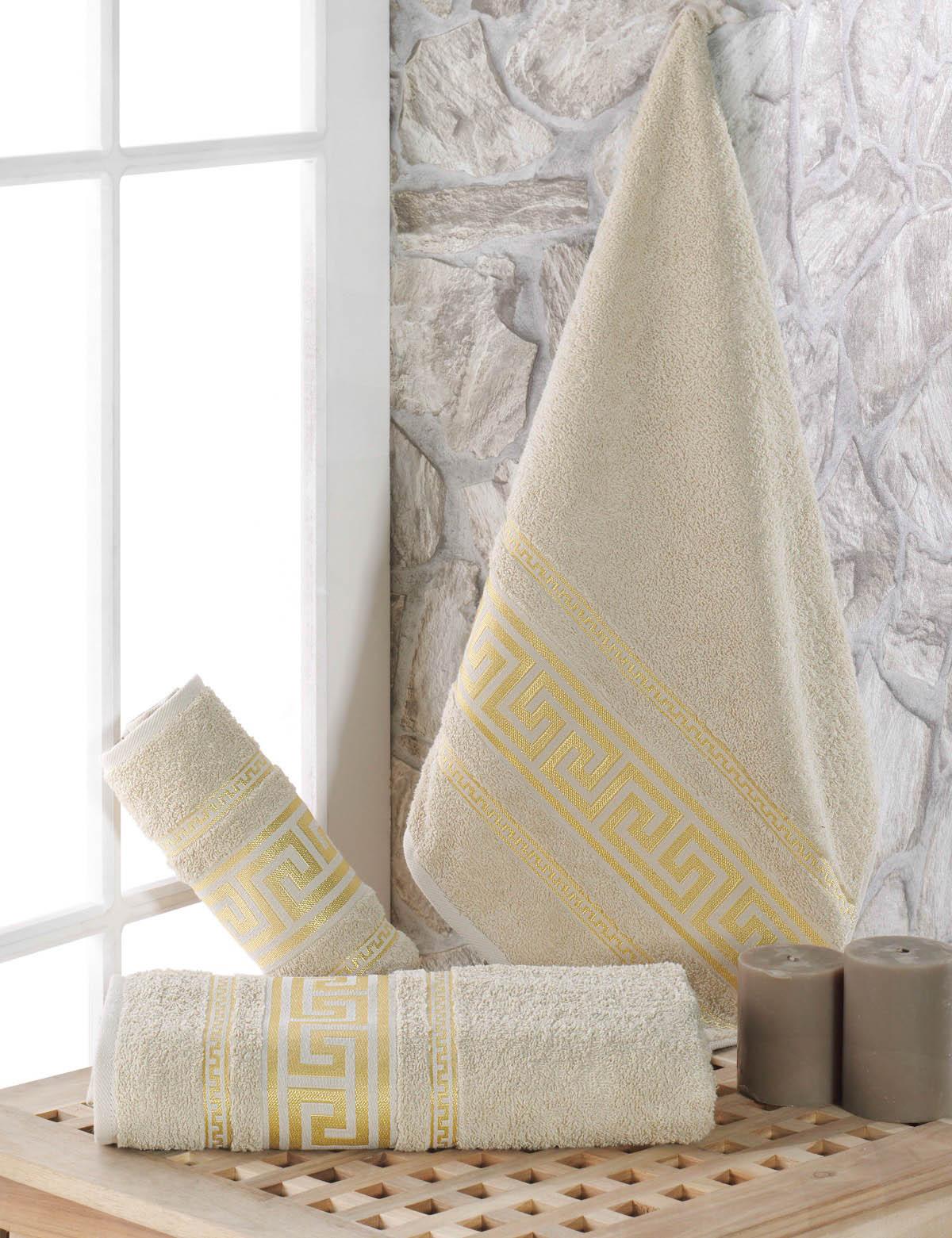 Полотенца Karna Полотенце Iteka Цвет: Бежевый (70х140 см) karna karna полотенце innes цвет красный 70х140 см