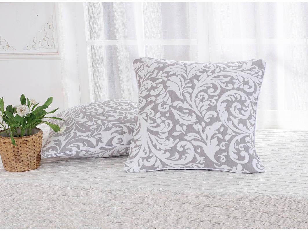 Декоративные подушки Cleo Декоративная наволочка Acer Цвет: Серый (45х45) чехол для декоративной подушки кора дуба 45х45 см p02 z012 1