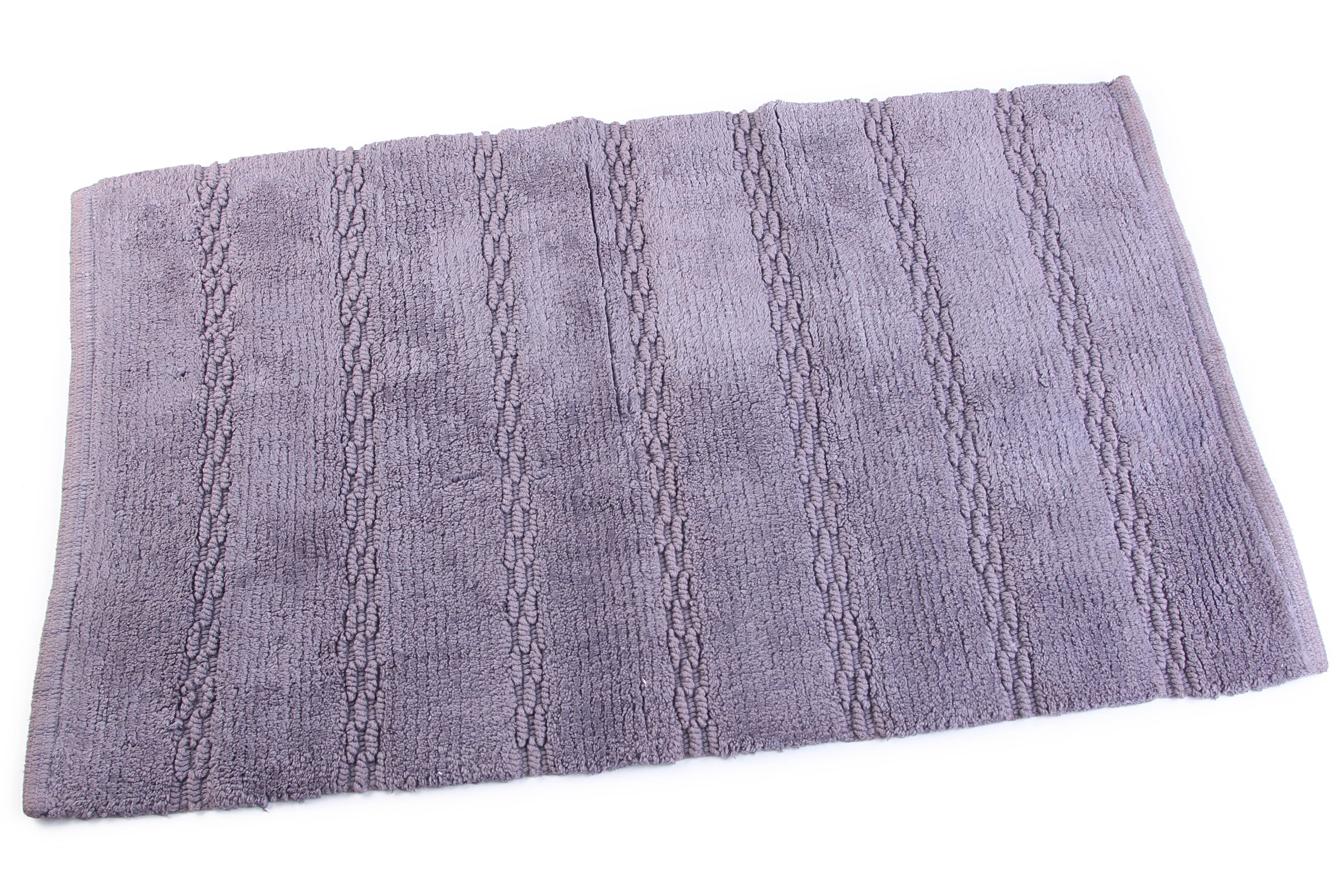 Аксессуары для ванной и туалета Ганг Коврик для ванной Cohen Цвет: Сиреневый (50х80 см) коврик для ванной арти м 50х80 см розанна