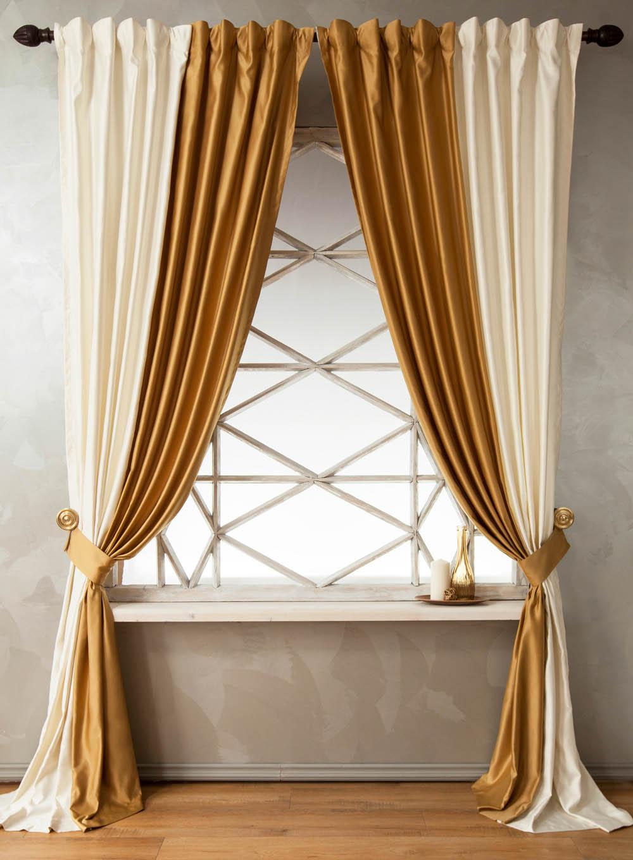Шторы PASIONARIA Классические шторы Кидман Цвет: Золотой шторы tac классические шторы winx цвет персиковый 200x265 см