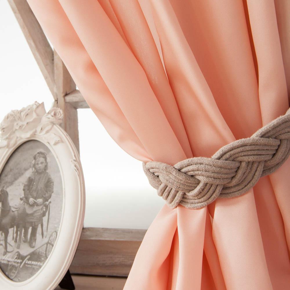 Шторы PASIONARIA Классические шторы Лори Цвет: Розовый шторы tac классические шторы глянец цвет портьер розовый цвет тюля белый с бежевой полоской