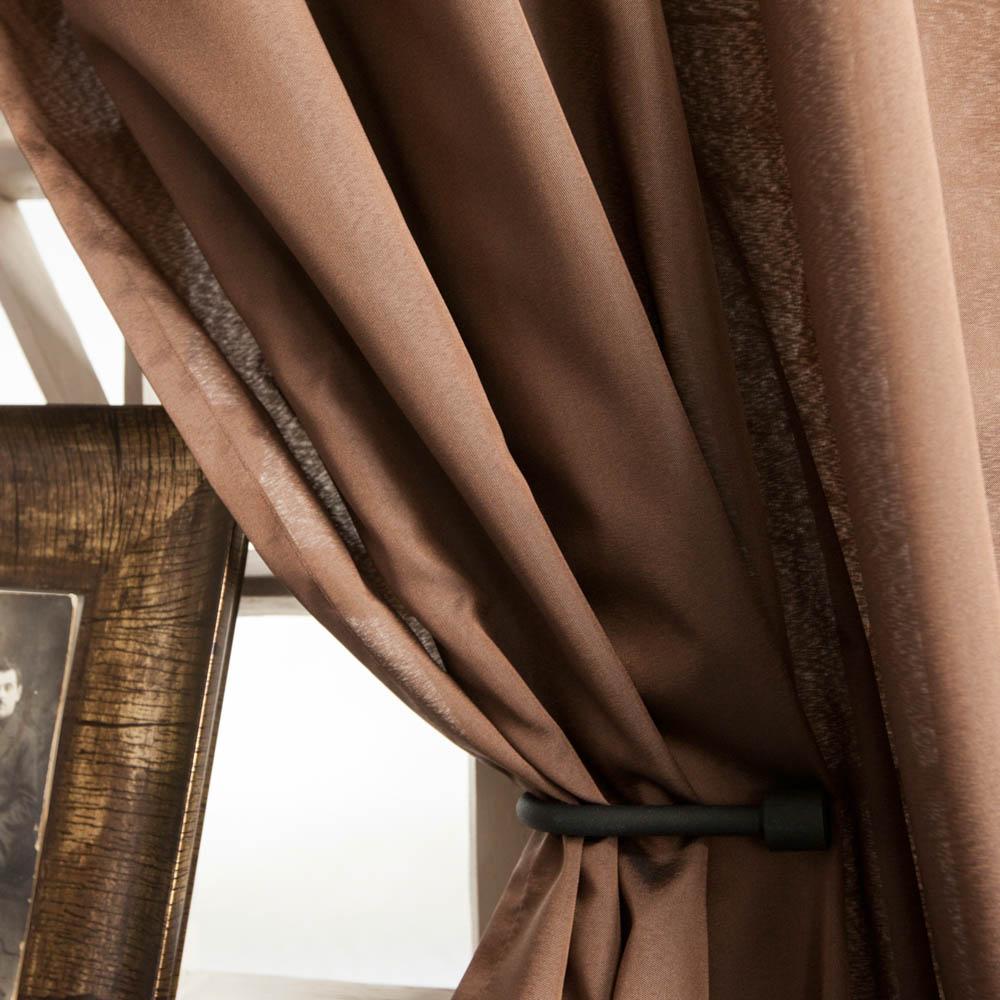 Шторы PASIONARIA Классические шторы Лори Цвет: Коричневый шторы tac классические шторы winx цвет персиковый 200x265 см