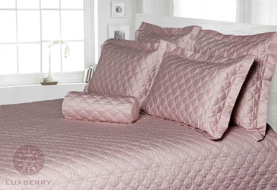 Покрывало Luxberry Покрывало Pearl Цвет: Розово-Жемчужный (240х260 см) покрывало luxberry покрывало каменный цветок цвет пудра 240х260 см
