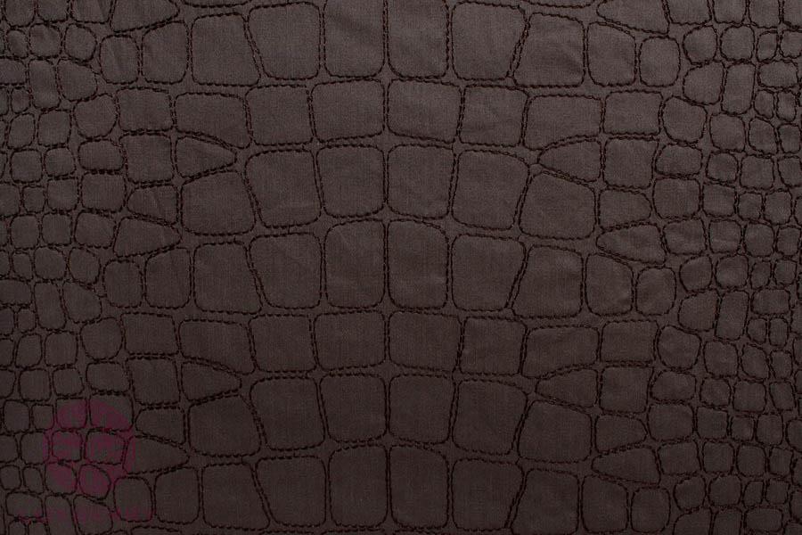 Постельное белье BOVI Постельное белье Крокодил Цвет: Шоколад (1,5 спал.) постельное белье bovi постельное белье крокодил цвет шоколад 2 сп евро