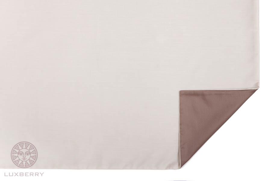 Наволочки Luxberry Наволочка Duetto 3 Цвет: Песочный/Орех (70х70) босоножки sweet shoes sweet shoes sw010awtbr38