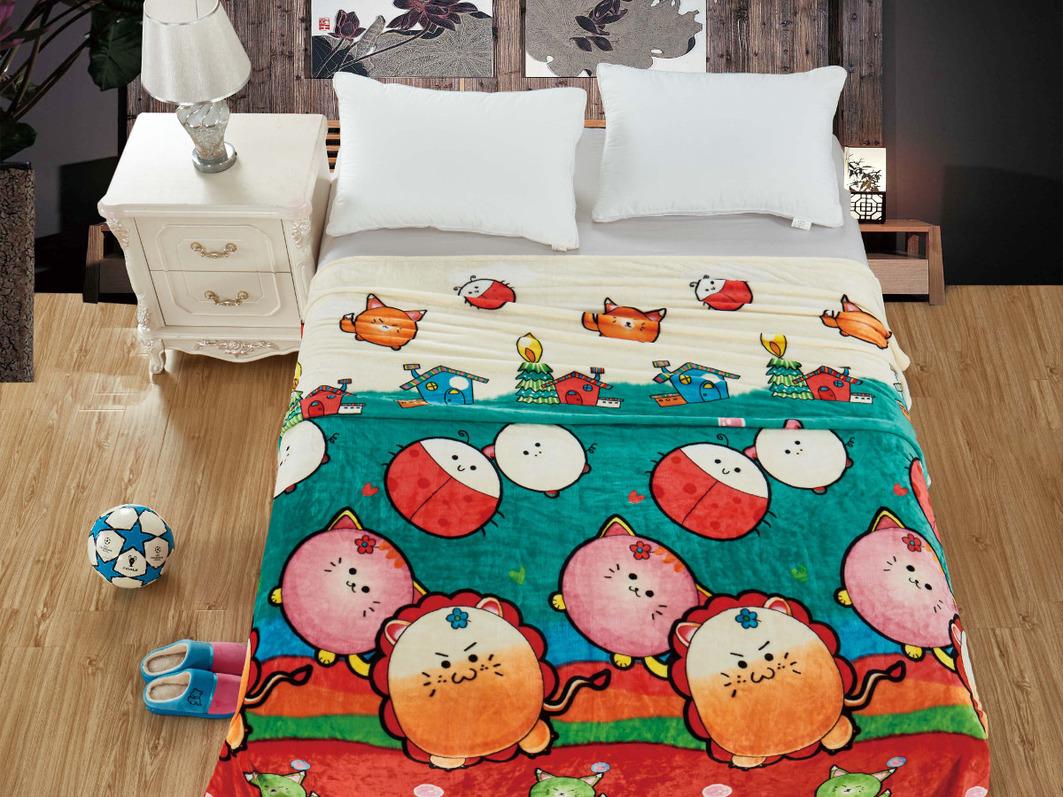 Детские покрывала, подушки, одеяла Cleo Детский плед Kendall (150х200 см) детские покрывала подушки одеяла cleo детский плед carmel 150х200 см