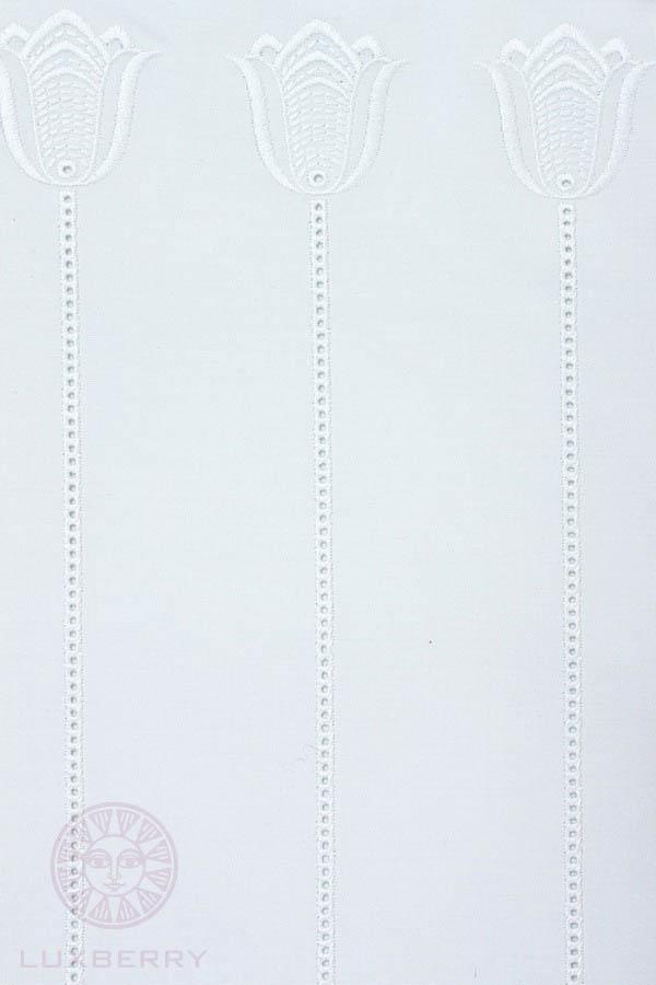 где купить Детское Постельное белье Luxberry Постельное белье Тюльпан Цвет: Белый (100х140 см) по лучшей цене