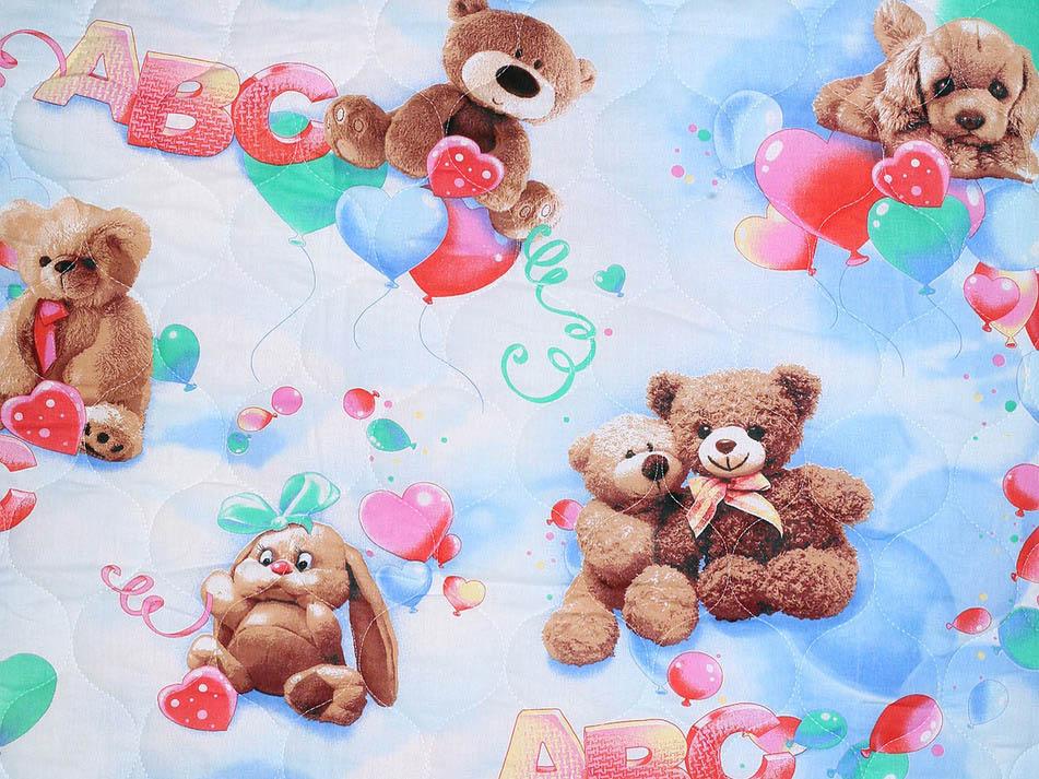 Детские покрывала, подушки, одеяла Cleo Детское одеяло Воздушные Шары (143х205 см)