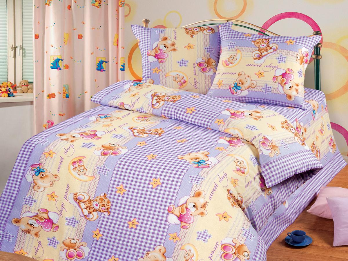 Детские покрывала, подушки, одеяла Cleo Детская подушка Sweet Sleep (50х70) подушки ортопедические sleep professor подушка memory foam sleep professor