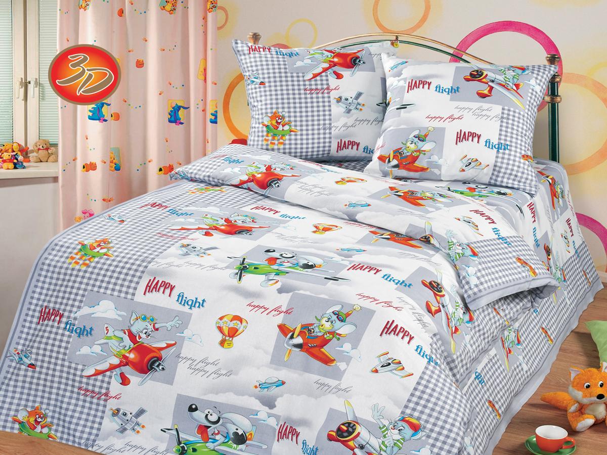 Детские покрывала, подушки, одеяла Cleo Детская подушка Happy Flight (40х60)