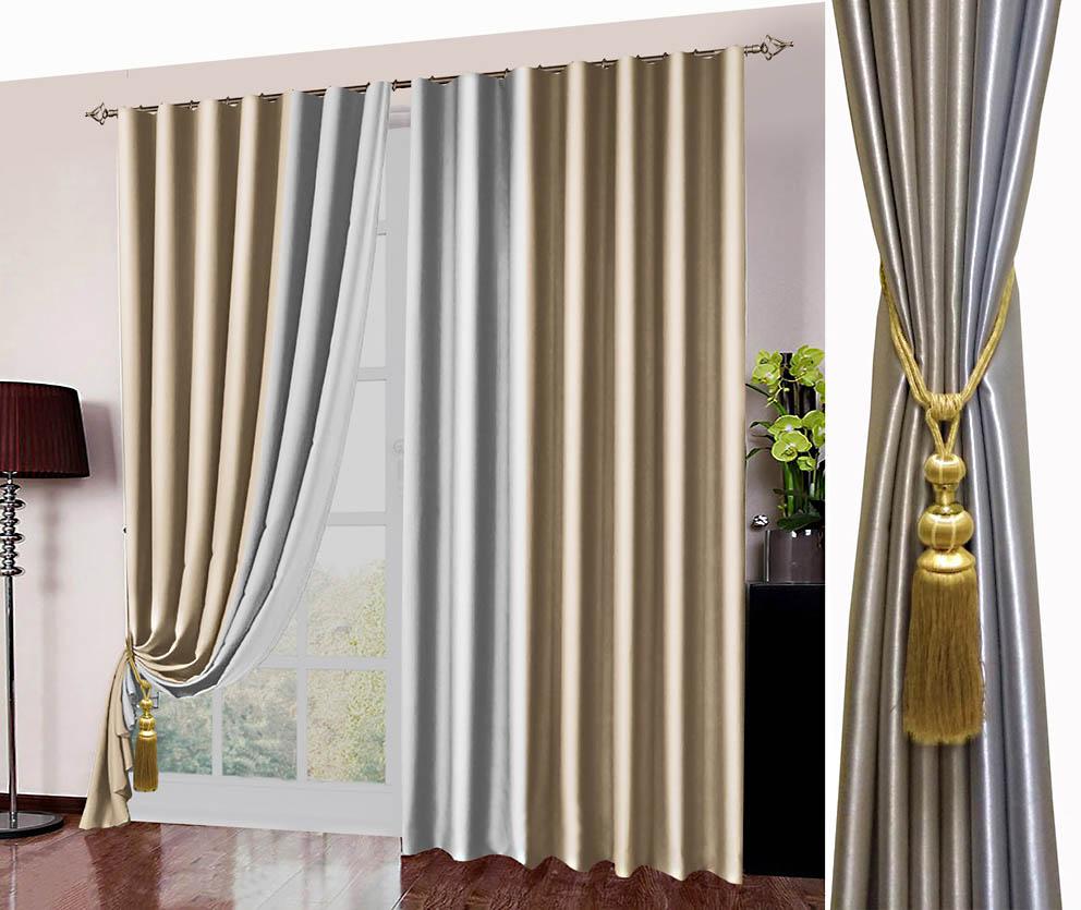Шторы РеалТекс Классические шторы Kaylynn Цвет: Бежевый шторы реалтекс классические шторы alberta цвет персиковый молочный