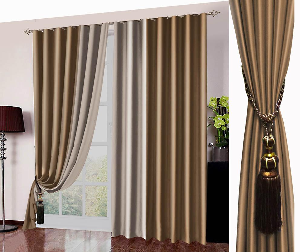 Шторы РеалТекс Классические шторы Kaylynn Цвет: Золотой шторы реалтекс классические шторы alberta цвет персиковый молочный