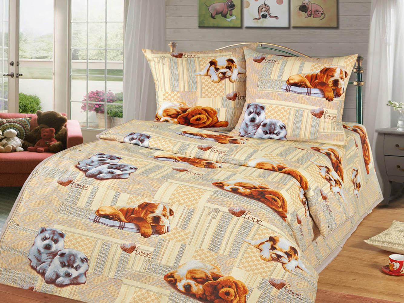 Детское Постельное белье Cleo Детское Постельное белье Puppies (145х215 см)