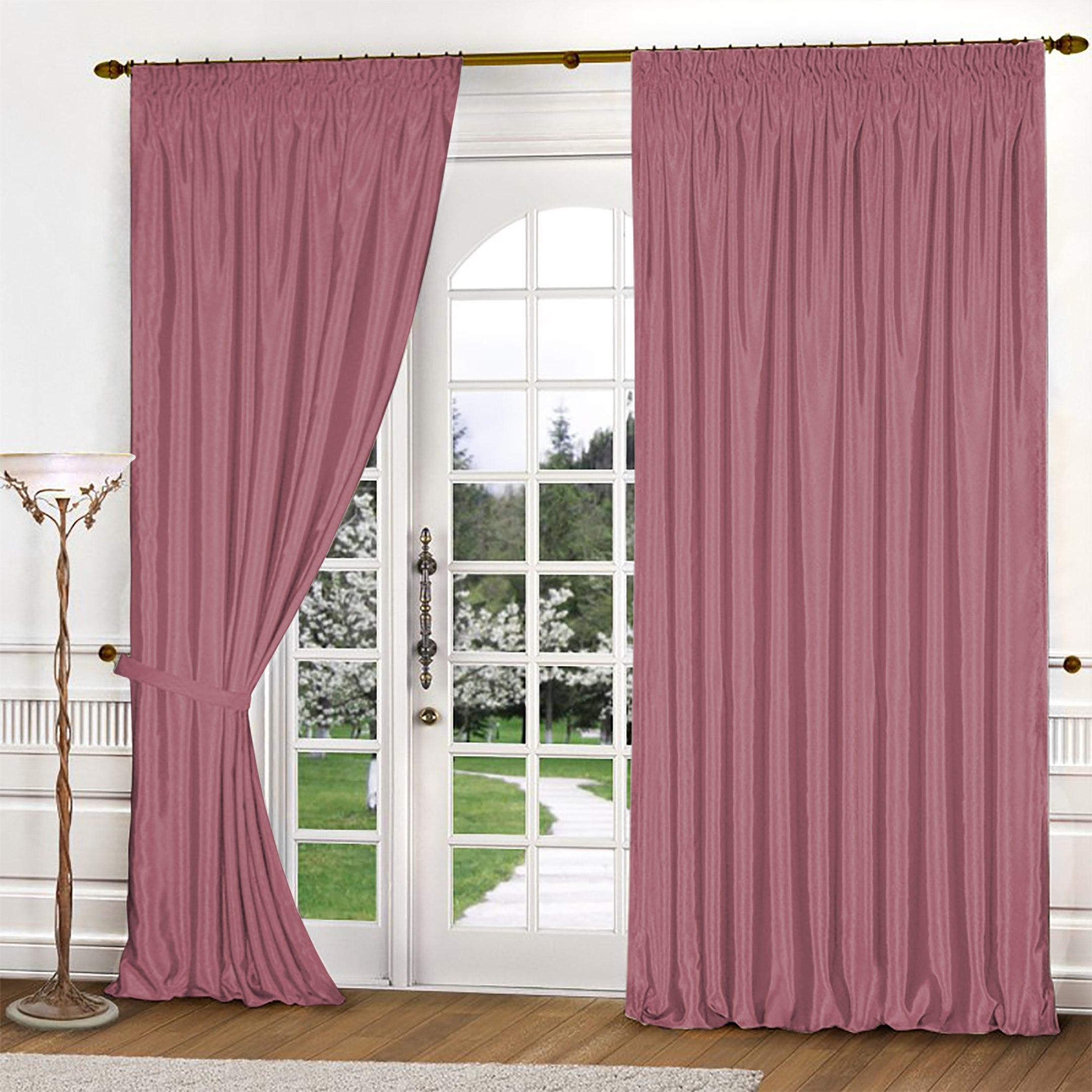 Шторы РеалТекс Классические шторы Brisa Цвет: Брусничный шторы реалтекс классические шторы alberta цвет персиковый молочный