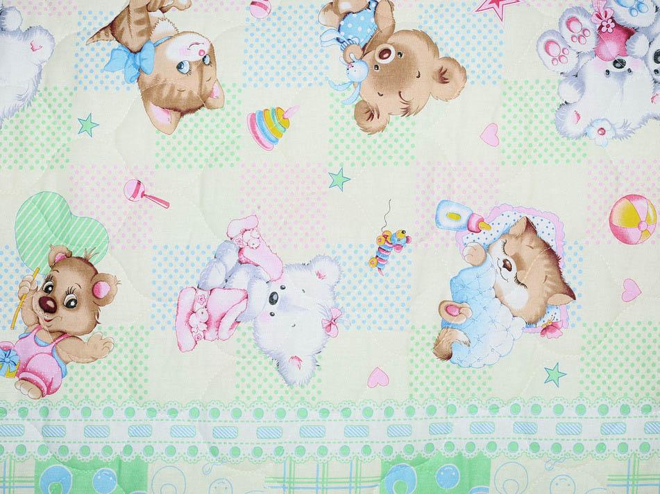 Детские покрывала, подушки, одеяла Cleo Детское одеяло Веселые Игры (143х205 см)