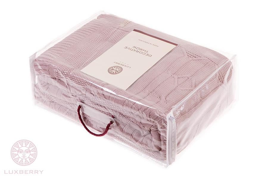 Плед Luxberry Плед Lux40 Цвет: Пудра Тон 03                                                                                                                      (220х240 см) плед luxberry imperio 10 умбра