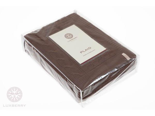 Плед Luxberry Плед Imperio Цвет: Шоколадный                                                                                                                          (220х240 см) плед luxberry плед imperio 10 цвет умбра 150х200 см