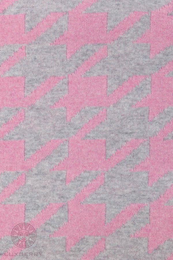 Плед Luxberry Плед Goose Foot Цвет: Розовый/Серый                                                                                 (130х170 см) плед luxberry плед imperio 293 цвет белый темно серый 130х170 см