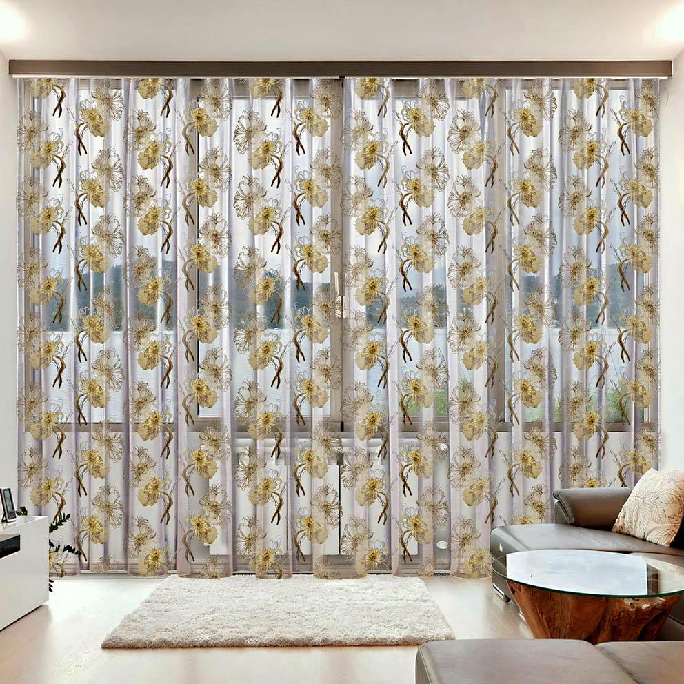 Шторы РеалТекс Классические шторы Barclay Цвет: Венге, Бежевый шторы реалтекс классические шторы alberta цвет персиковый молочный