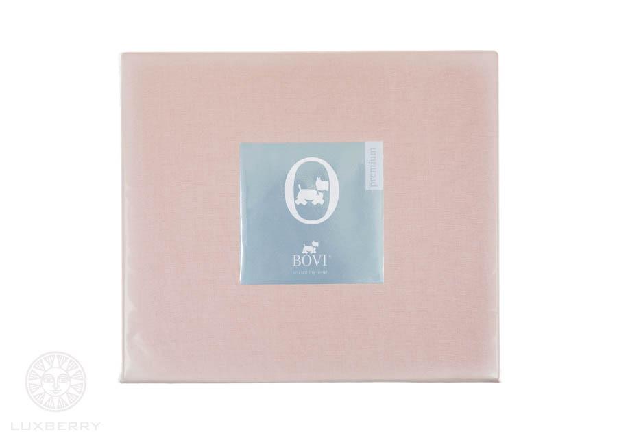 Простыни BOVI Простыня на резинке Vinnie Цвет: Розовый (140х200)