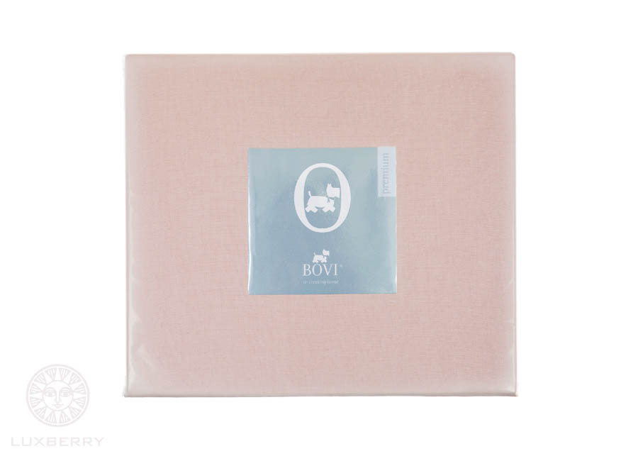 Простыни BOVI Простыня на резинке Vinnie Цвет: Розовый (160х200)