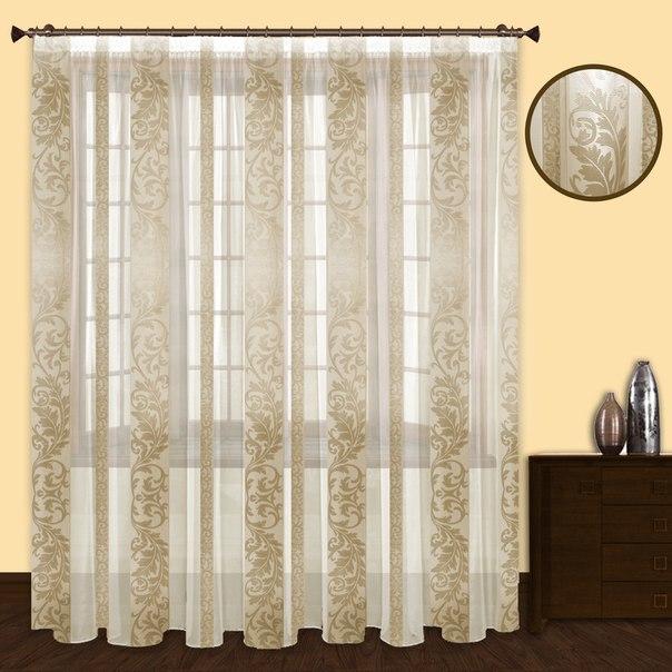 Шторы РеалТекс Классические шторы Frogi Цвет: Золото шторы реалтекс классические шторы alberta цвет персиковый молочный