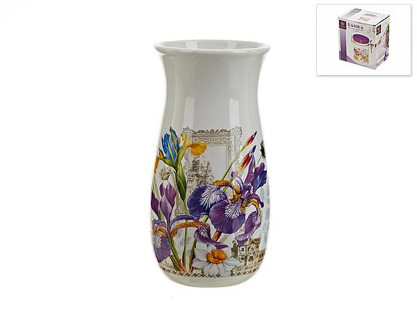 {} Nouvelle Ваза Ирис (9х19 см) ваза настольная арти м 20х18 см ирис 327 048