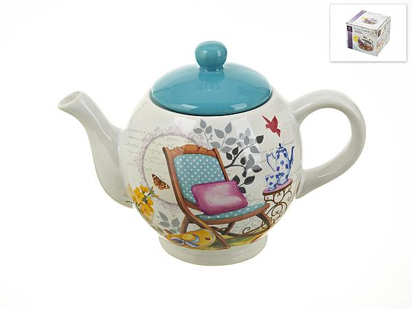 {} Nouvelle Заварочный чайник Сад (13х17 см) русские подарки чайник заварочный розовый сад