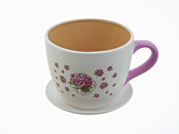 {} Nouvelle Горшок для цветов Розовая Гортензия (13х16 см) горшок для цветов с поддоном розовая гортензия h 16 5см d 20 5см v 3100мл без подарочной упаковки 893176