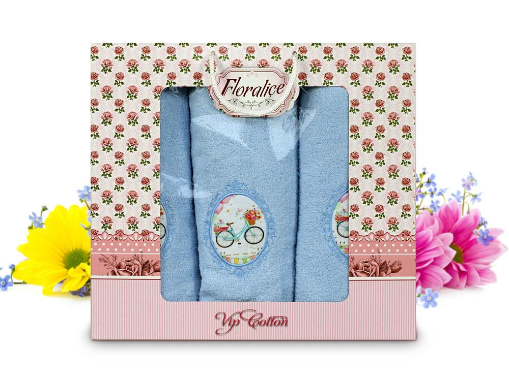 Полотенца Gulcan Полотенце Floralice (Набор) полотенца tango полотенце oriana 75х150 см