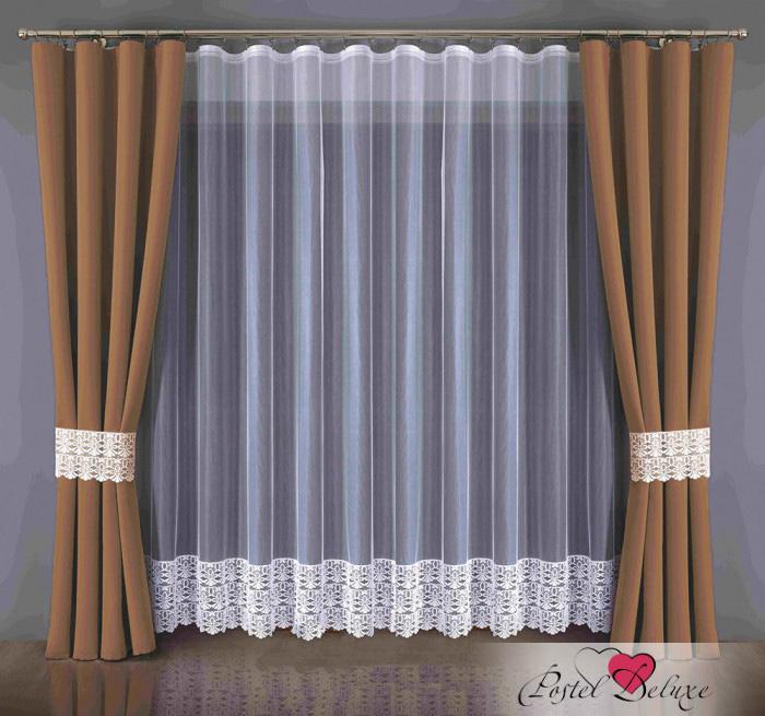 Шторы Wisan Классические шторы Blackout Цвет: Шоколадный шторы tac классические шторы winx цвет персиковый 200x265 см