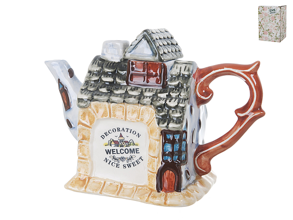 {} ENS GROUP Заварочный чайник Дом, Милый Дом (10х13х18 см) ens group банка для сыпучих дом милый дом 8х9х10 см