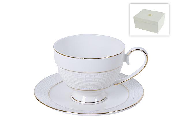 {} Best Home Porcelain Чайная пара Лабиринт (250 мл) best home porcelain чайная пара альпийский сад 250 мл