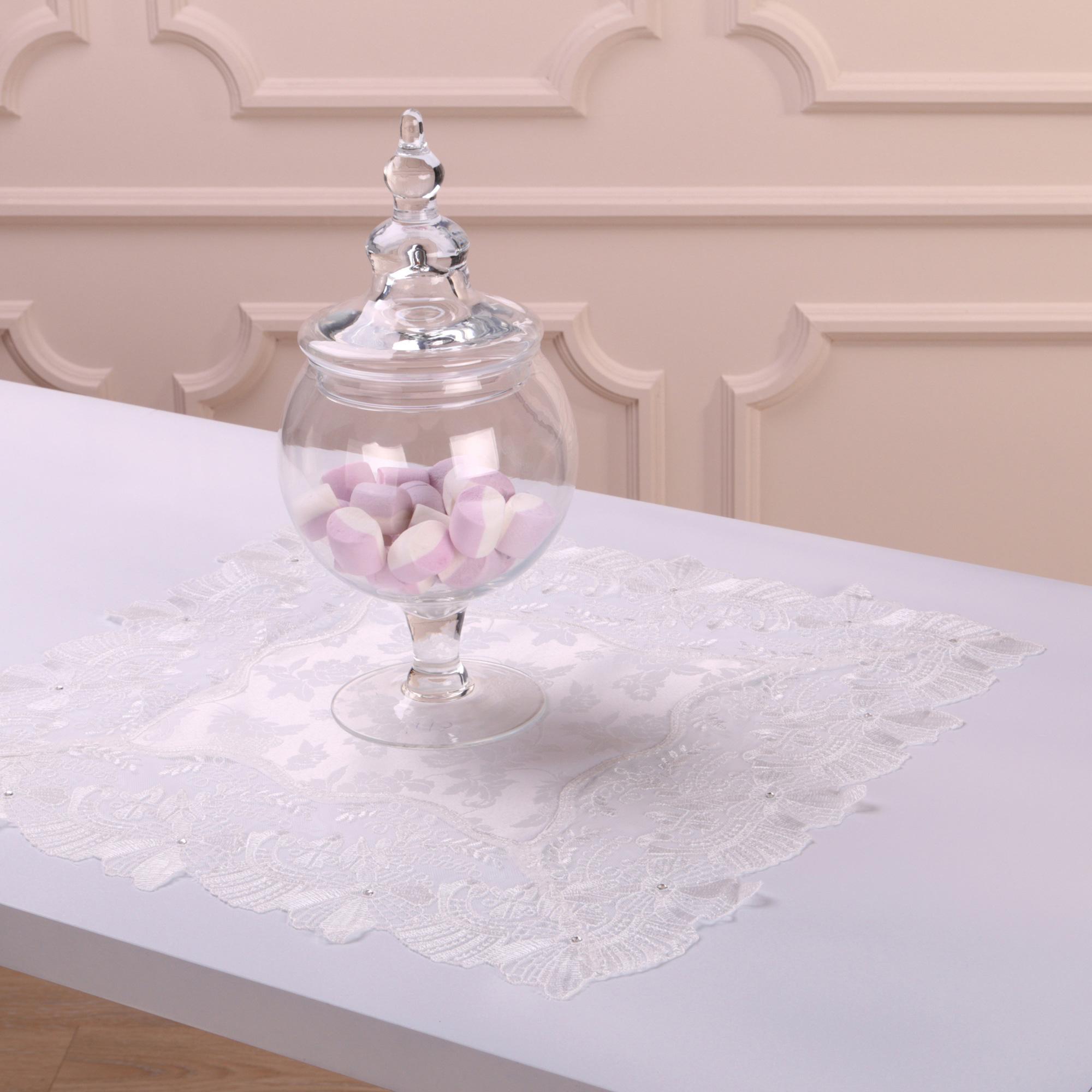 Скатерти и салфетки Villa Bianca Салфетки Louanna Цвет: Белый (40х40 см)