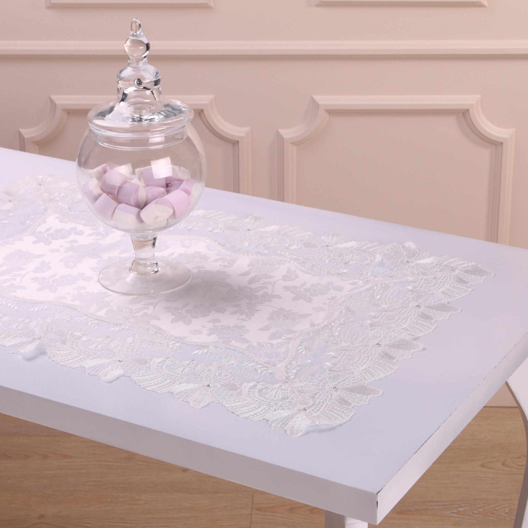 Скатерти и салфетки Villa Bianca Салфетки Louanna Цвет: Белый (40х60 см)
