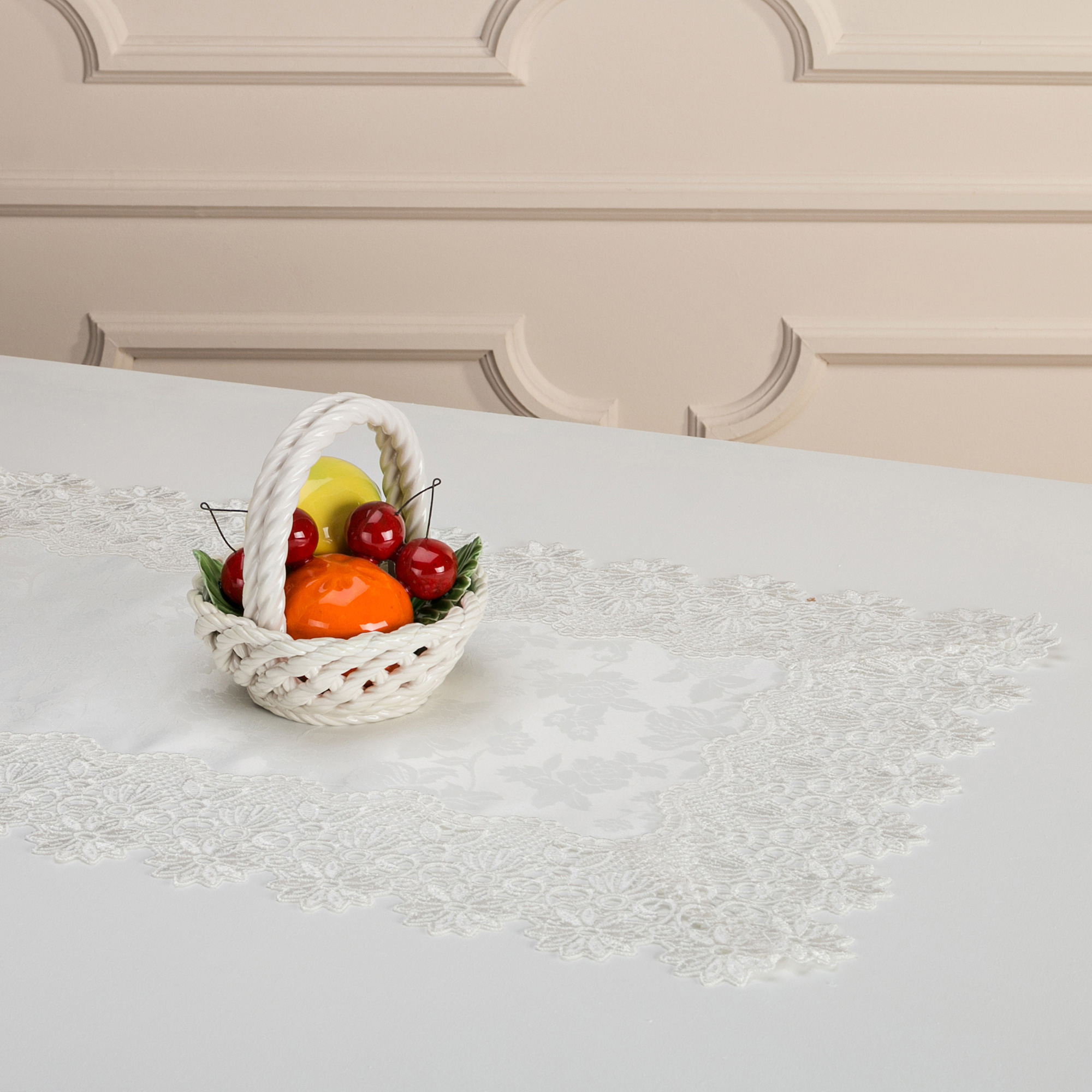 Скатерти и салфетки Arti-M Салфетки Wayland Цвет: Белый (40х60 см)
