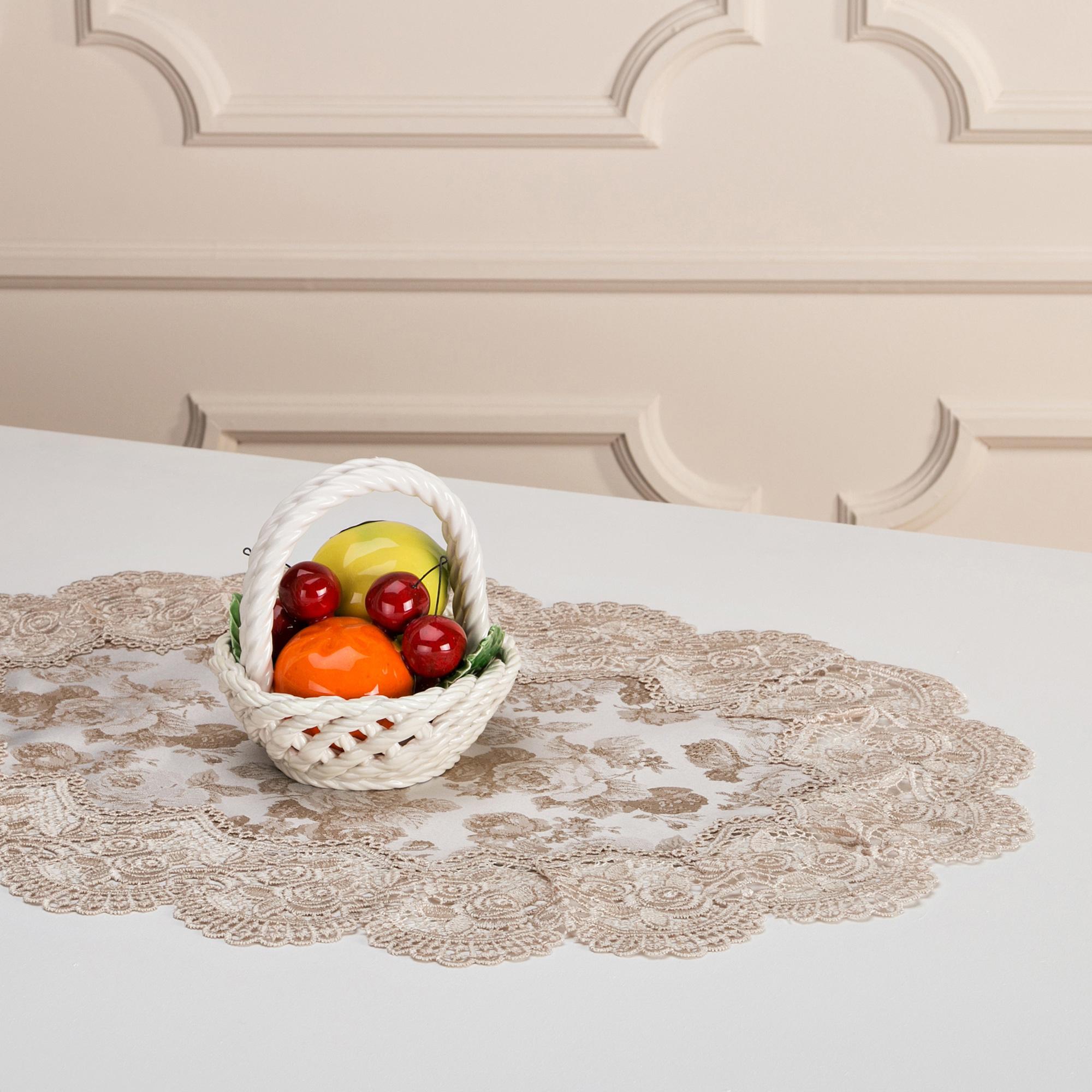 Скатерти и салфетки Arti-M Салфетки Merari (40х60 см) фигура садовая девочка клубничка 25 х 30 х 55 см