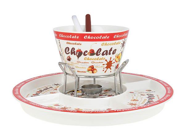 {} ENS GROUP Набор для шоколадного фондю Chocolate (14/30х18 см) ens group подставка для яйца пасхальный петушок 6х7х9 см