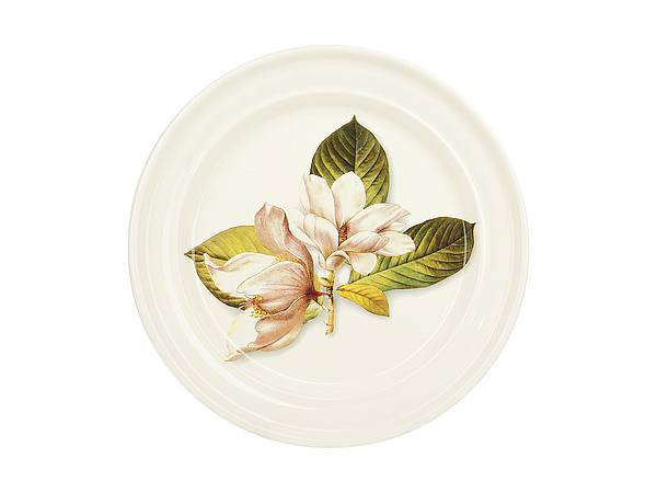 {} ENS GROUP Тарелка Танго Магнолия (3х24 см) подставка под ложку ens group чайная роза